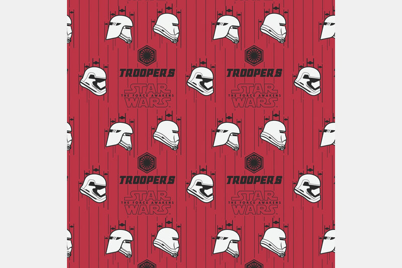 Troopers - Red / 2 Yards