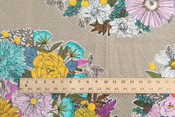 Bouquet Khaki / 2 yards