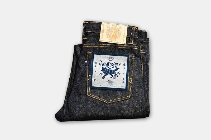 Sage Wolfberg 21oz Selvage Denim