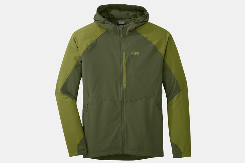 Men's – Ferrosi Hooded Jacket – Kale/Hops – S