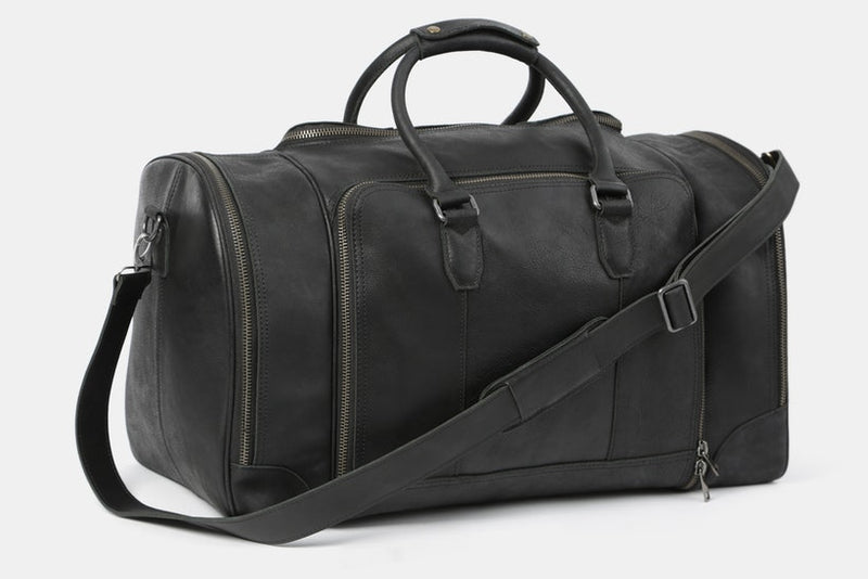 Massdrop Cruz Leather Weekender