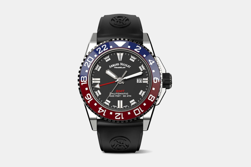 Armand Nicolet JS9 GMT Automatic Watch