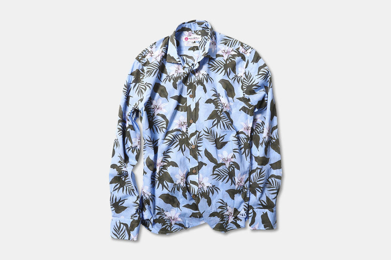 Vual Hibiscus - Light Blue - XL