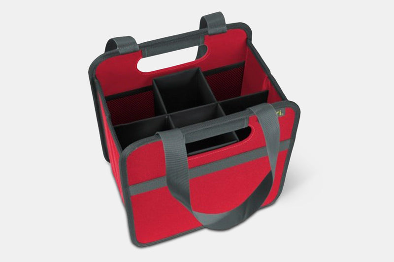 Foldable Wine Carrier w/ Removable Insert
