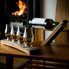 Whisky Glasses and Glass Holders