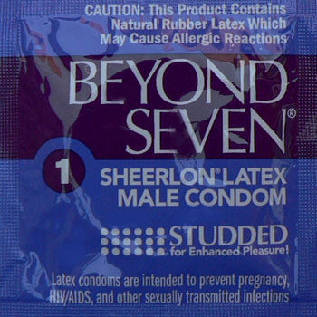 Beyond Seven | Studded - theCondomReview.com