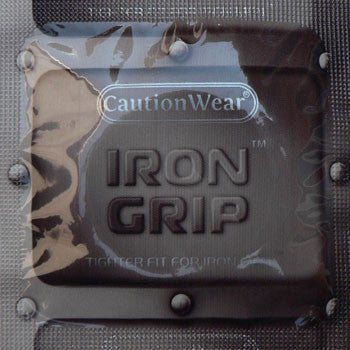 Caution Wear | Iron Grip - theCondomReview.com