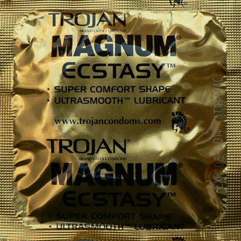 Trojan magnum ecstacy condoms