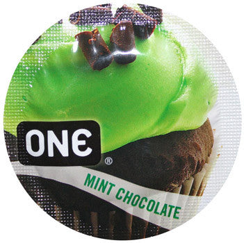 ONE | Flavor Waves: Mint Chocolate - theCondomReview.com