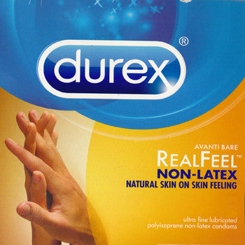 Durex | (Avanti Bare) RealFeel Non-Latex - theCondomReview.com