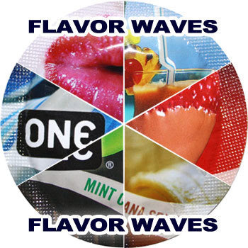 ONE | Sampler: Flavor Waves - theCondomReview.com