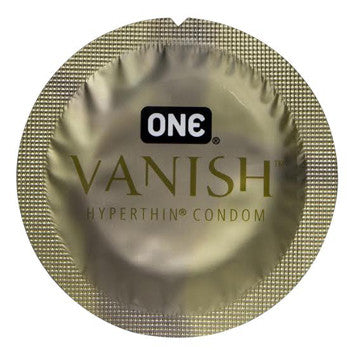 ONE | Vanish - BRAND NEW!! - theCondomReview.com
