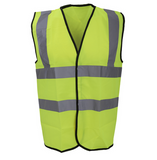 Hi Vis Vest Classic (small print on left breast and larger print on back)
