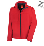 Embroidred Soft Shell Jacket (heavy weight)