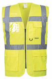 Hi Vis Vest Executive (Embroidered on left breast)