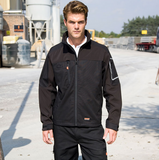 Embroidered Work-Guard Sabre Soft Shell Jacket