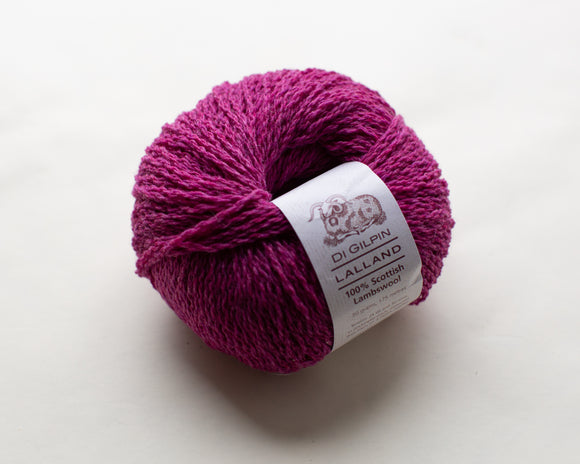 Bell Heather : Lalland DK 100% Lambswool Spun in Scotland