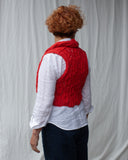 Arabesque Gilet : 100% Scottish Lambswool : Wear