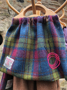 The Retro Knitting Bag