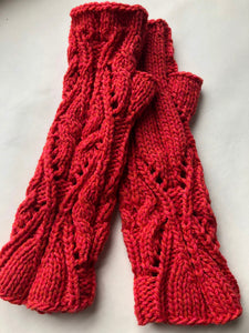 Arabesque Mittens : Pattern