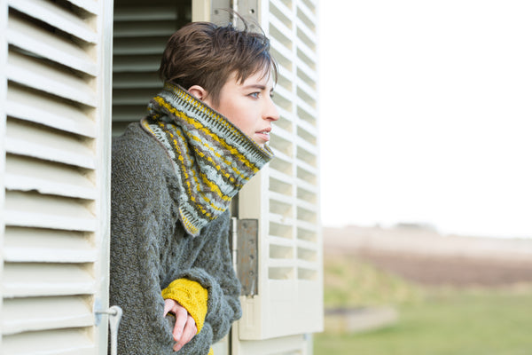 Geo Cowl / Snood : Pattern
