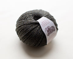 Oak : Lalland Aran 100%  Lambswool Spun in Scotland