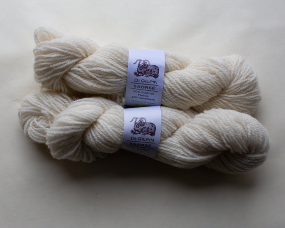 Saorse - Specialist Scottish Wool/Cashmere Yarn Grown and Spun in Scotland