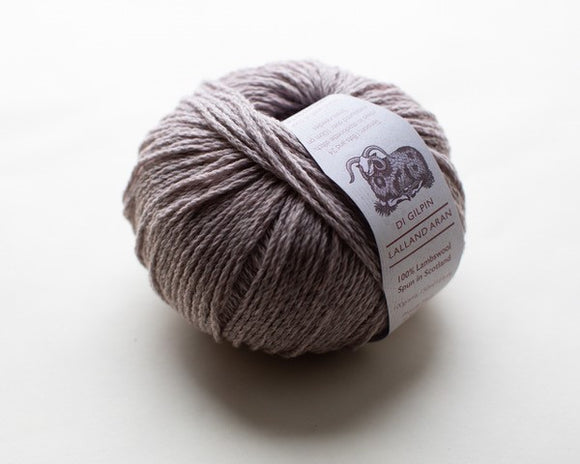 Magnolia : Lalland Aran 100%  Lambswool Spun in Scotland