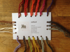 A Lalland Lambswool Shade Card