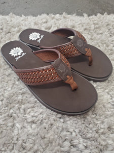 Brown Everyday Sandals