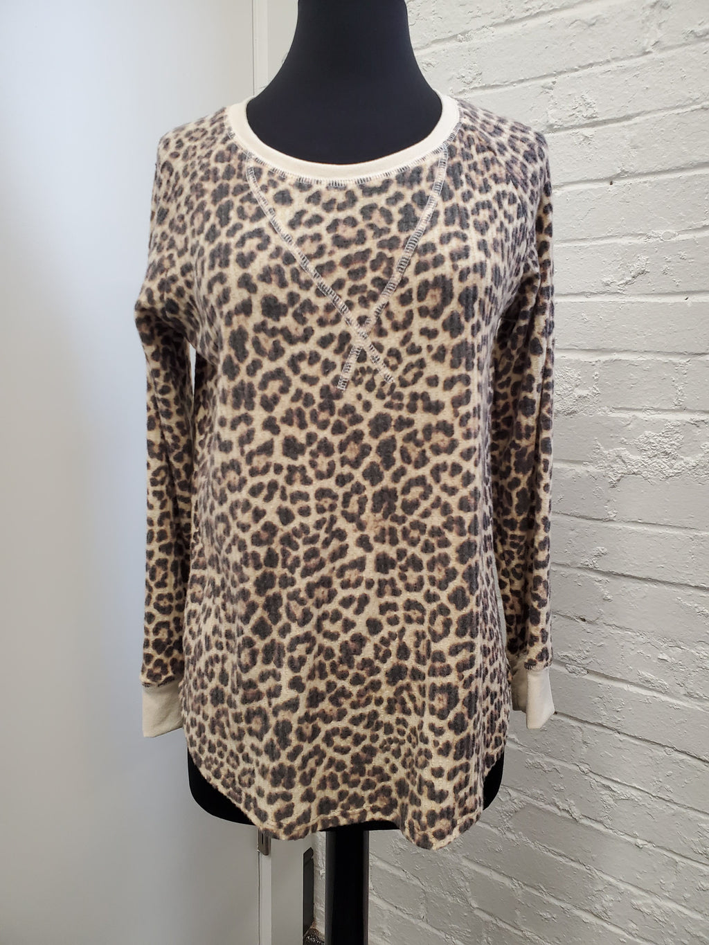 Roxy Cheetah Top