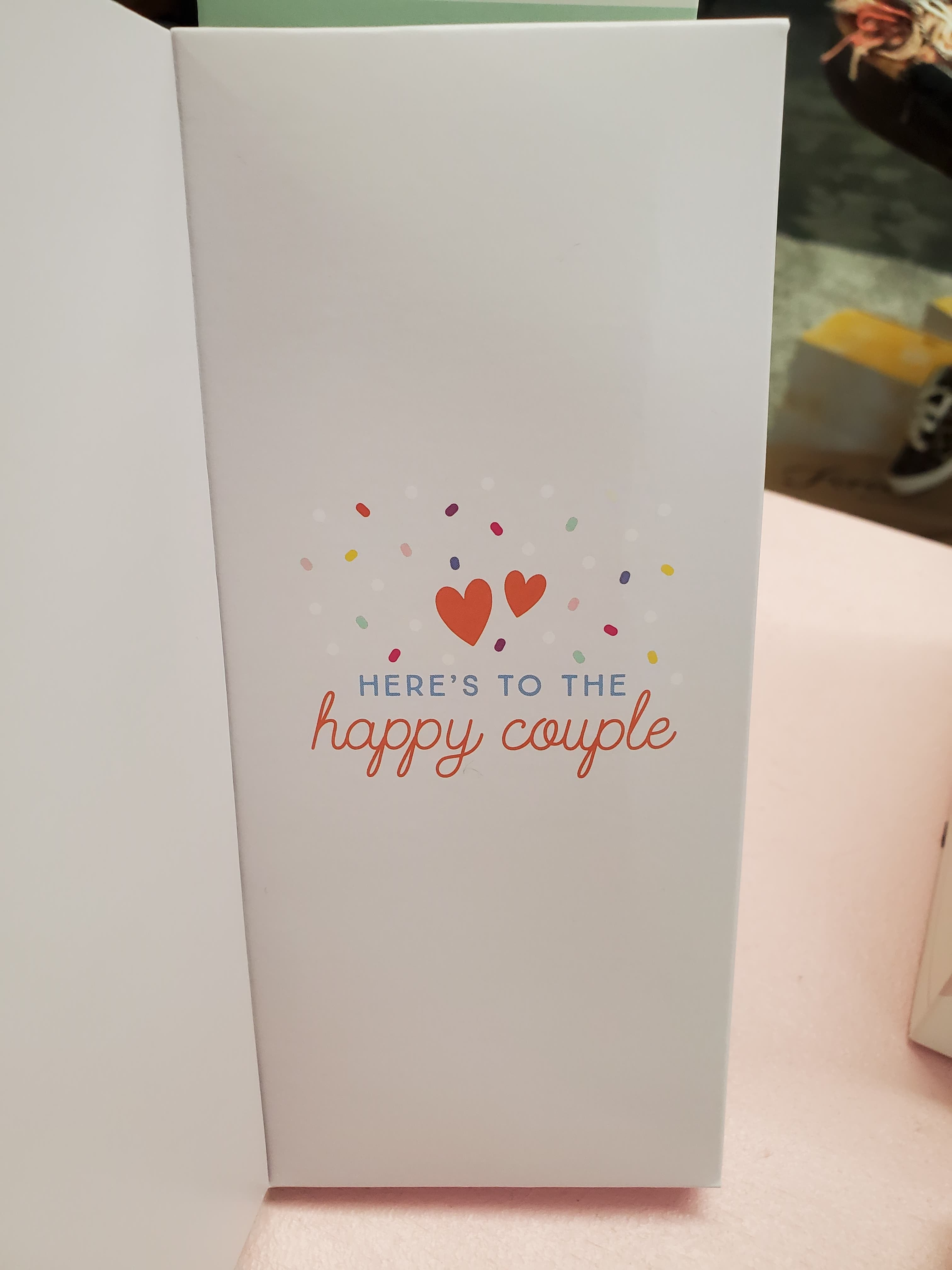 Sweeter Cards Greeting Card & Chocolate Bar