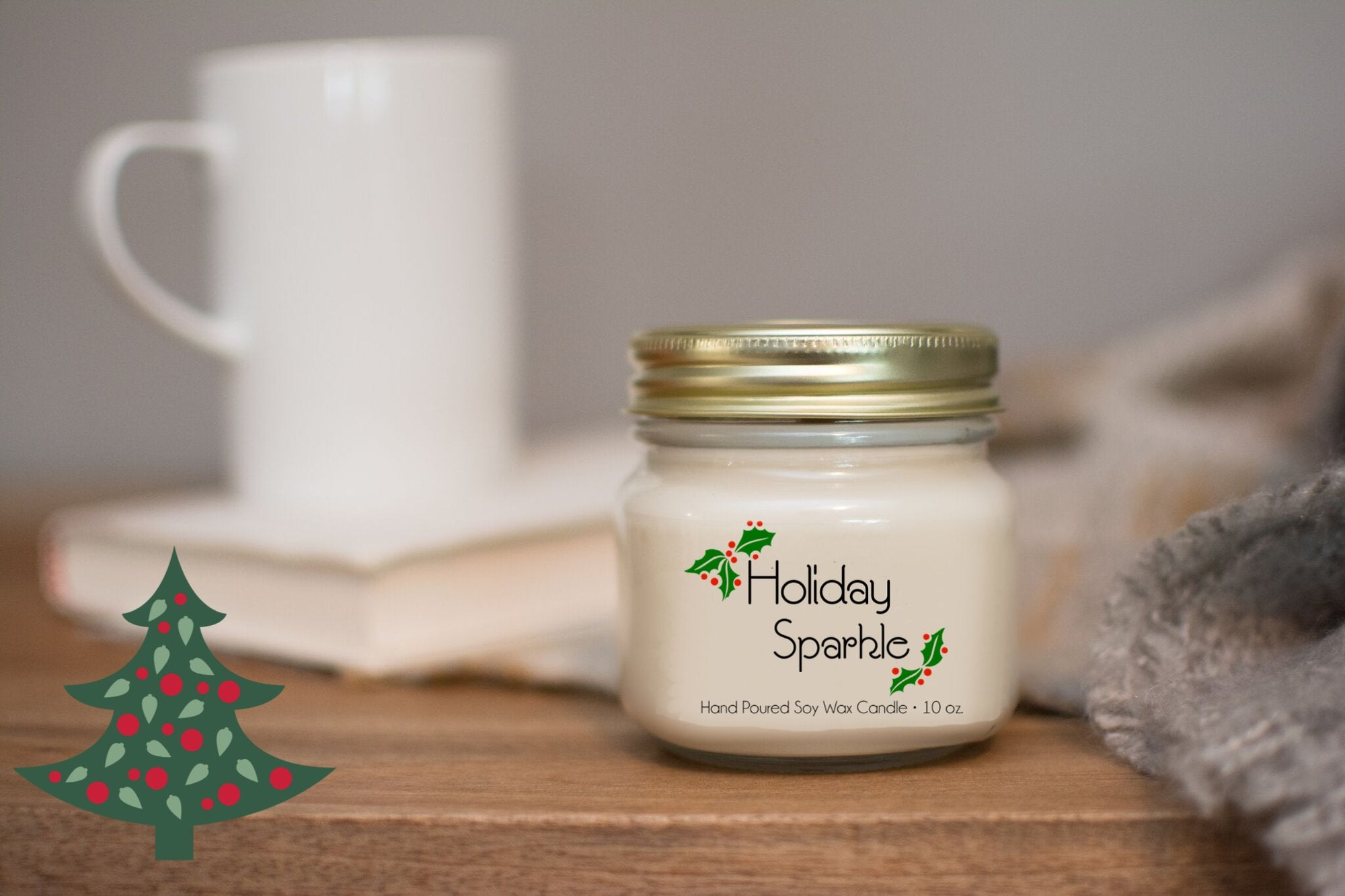10oz Soy Candles