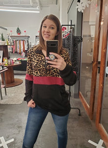 Chilly Cheetah pullover