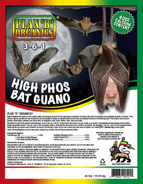 High Phos Bat Guano 3-6-1