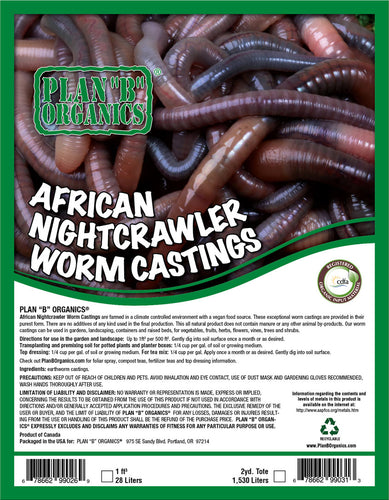 African Nightcrawler Worm Castings
