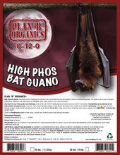 Load image into Gallery viewer, High Phos Bat Guano 0-12-0