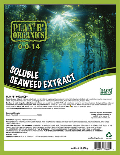 Soluble Seaweed Extract 0-0-14