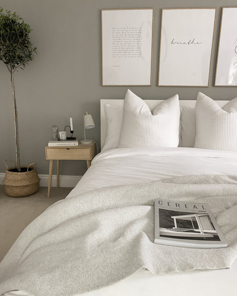 Mix Different Shades of White — Cuddledown