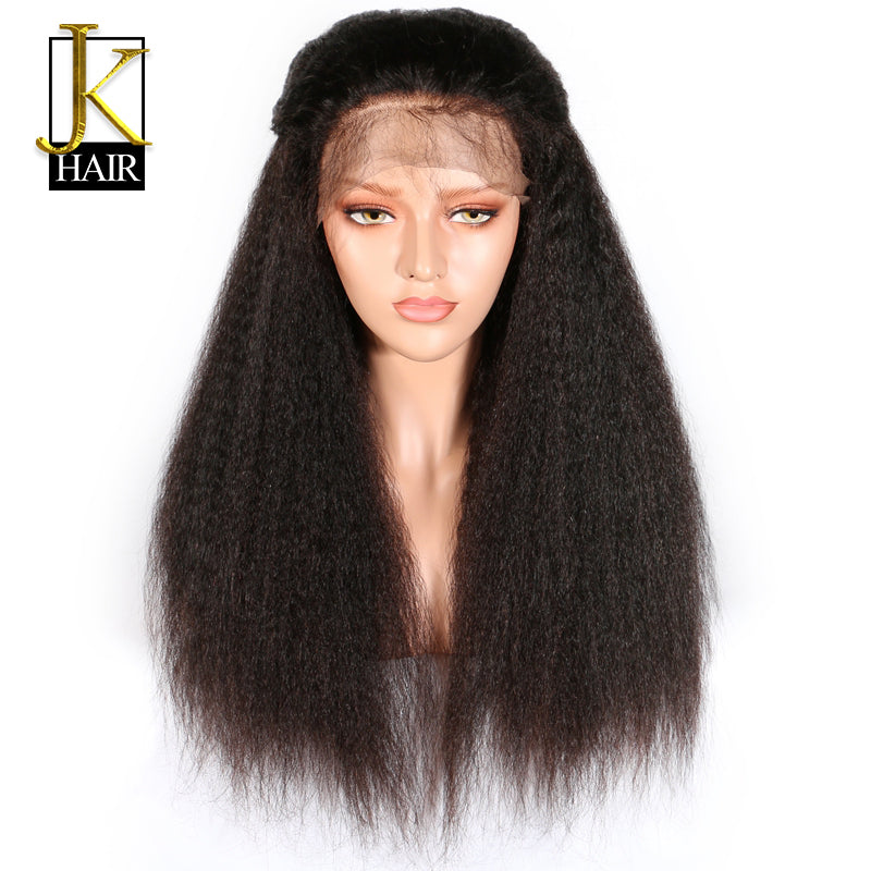 Brazilian Lace Front Kinky Straight Wig - Pre Plucked - allthingsluvly.com