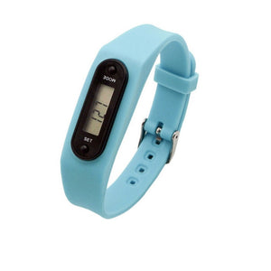 Digital LCD Silicone Wirstband Pedometer Run Step Walking Distance Calorie Counter Wrist Women&Men Sport Fitness Watch Bracelet - allthingsluvly.com