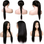 Brazilian Remy 360 Lace Frontal Wig, Pre Plucked With Baby Hair - allthingsluvly.com