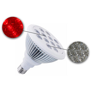 buy 24W mini targeted treatment red 660nm nir near-infrared 850nm LED light therapy device machine panels on sale