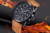 TechNiche Watches for Men Luxury Quartz Watch Fashion Chronograph