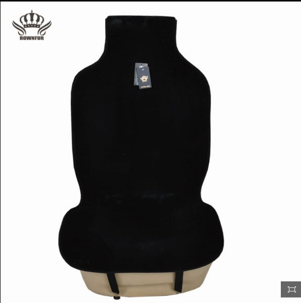 TechNiche Auto Crown Hot Sale Universal Car Seat Interior Accessories faux fur Material Car Seat Cover  Easy to install