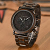 TechNiche Wood Watch for Men Stopwatch Great Gift