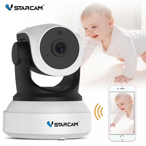 TechNiche Vstarcam C7824WIP Baby Monitor wifi 2 way audio smart camera with motion detection Security IP Camera Wireless Baby Camera