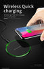 TechNiche Qi Wireless Charger For iPhone 8 X XR XS Max QC3.0 10W Fast Wireless Charging for Samsung S9 S8 Note 8 9 S7 USB Charger Pad