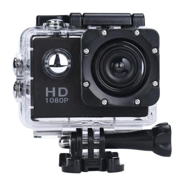 TechNiche 1080P HD Shooting Waterproof Digital Video Camera COMS Sensor Wide Angle Lens Camera For Swimming Diving