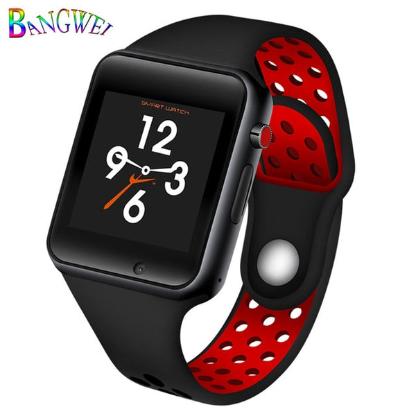 TechNiche Unisex Smart Watch Sport Pedometer LED Digital WristWatch SIM Camera Music Player Smartwatch For Android+Box